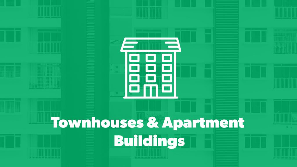 Townhouses & Apartment Buildings